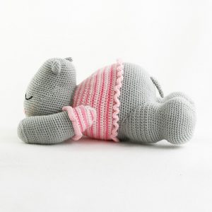 Harriet the Hippo Free Amigurumi Pattern | Jess Huff | 300x300