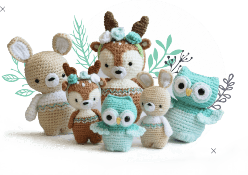 Amigurumi stitch GUIDE: Back loop ONLY! – THE NOMAD KNOT | 354x500