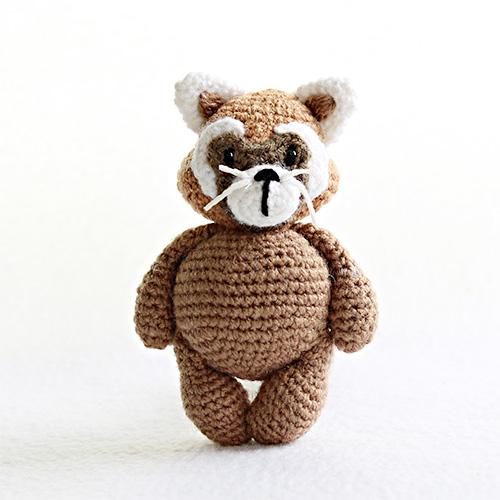 Amigurumi red panda pattern. Amigurumi pattern. Crochet pattern ... | 500x500