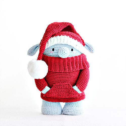Peter el elfo de Navidad patron duende amigurumi decoración ... | 500x500